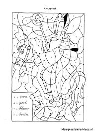 Sinterklaas Kleurplaten Om Te Kleuren