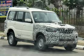 new car launches on diwali 2014New Mahindra Scorpio facelift spied again  Launch by Diwali