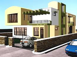 image of new 3d house plans indian style