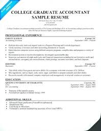 Sample Resume For Fresh Graduate Inspiration Sample Resume Fresh Graduate Accounting Student For A College