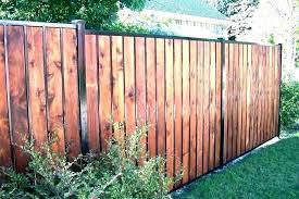 outdoor wood fence decorating ideas fencing metal posts backyard cedar panels oor luxury stain outdoor wooden fence