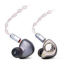 tfz king ltd hifi earphones 8 core silver plated cable neckband hifi bass noise customized dynamic headset for iphone