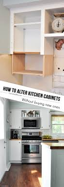 Renovation Kitchen Cabinets How To Alter Kitchen Cabinets Money Shaker Style And Get The Look