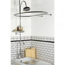 image of clawfoot tub shower kit