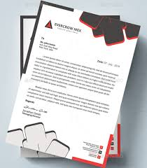 word letterhead template 25 free premium business letterhead word templates doc docx