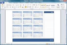 Office 2010: Office 2010 - Calendar Templates