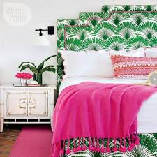 Pink And Green Bedroom Green Bedroom Photos And Decorating Tips