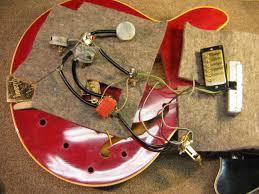 vintage 1965 gibson es345 wiring repair chicago fret works vintage 1965 gibson es345 wiring repair