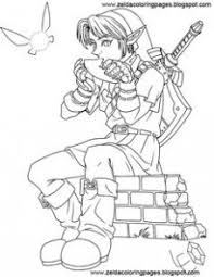 Zelda Majoras Mask Coloring Pages Coloring Pages Coloring Pages