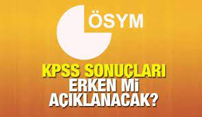 KPSS sonuçları ne zaman açıklanacak? ÖSYM 2021 sınav sonuçları için takvimi  paylaşmıştı... - EĞİTİM ÖĞRETİM Haberleri