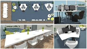Industrial Office Design Gorgeous Plan Your Office Design With RoomSketcher RoomSketcher Blog