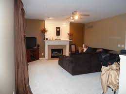 Painting Accent Walls In Living Room Accent Wall Color For Dark Brown Furniture House Decor