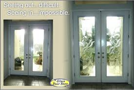 blinds in glass door insert glass entry doors replace the clear glass inserts in tall double