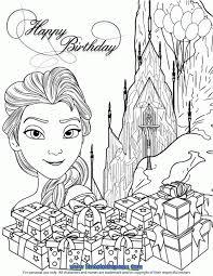 Elsa Ice Castle Gifts Coloring Page Kleurplaten Kleurplaten