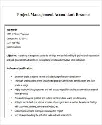 Project Management Accountant