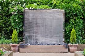 wall fountains for patio