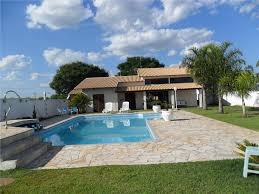 peojetos de edicula com piscina para casa de campo fachadas.