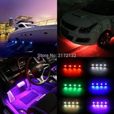 Us 69 22 Free Shipping 4 Pcs New Led Rock Lights Ip68 Waterproof Mini Rock Light For Cars Outdoor Off Road Rgb Rock Lights In Car Light Assembly