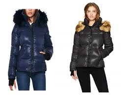 S13 Coat Size Chart S13 Womens Kylie Faux Fur Trim Puffer Jacket 129 49