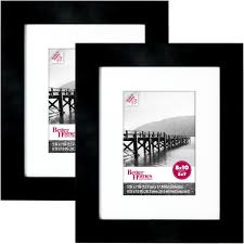 adeco 7opening 4x6 collage black picture frame com