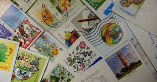 how many stamps do i need to send a letter package