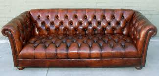 Vintage Leather Couch Unique Tufted Sofa  1025theparty Inside Couch Antique78