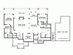 Ranch House Plan   Square Feet and Bedrooms from Dream    Basement