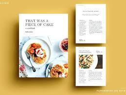 Online Cookbook Template Ebook Cookbook Template Best Template Design Images On Card