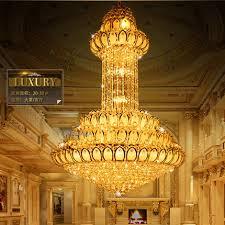 led crystal chandelier lights fixture american lotus flower chandeliers home indoor lighting modern hanging light long lotus flower chandelier f89