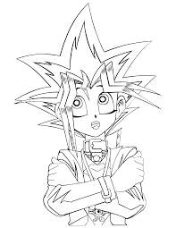 Small Picture Coloring Pages Yugioh Coloring Pages To Download And Print For