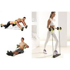 revoflex xtreme workout kit wheeled fitness resistance exercises rope as seen on tv 11street msia fitness accessories