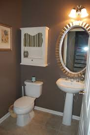 bathroom paint. bathroom, lovable brown bathroom with outstanding oval wall mirror framed design also fetching white wood cabinet idea ~ stunning paint ideas