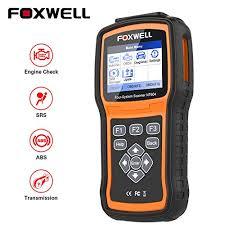 <b>FOXWELL OBD2 Scanner NT604</b> Code Reader Check Engine ABS ...