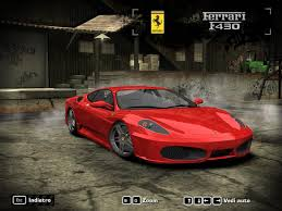 To get to the point, this is what it needs currently: Need For Speed Most Wanted Ferrari F430 Modena Nfscars