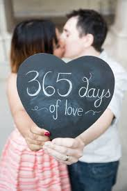 paper wedding anniversary ideas ruth and dany were married one year to the day of