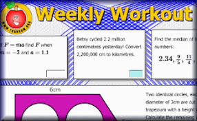 Transum Pie Charts Weekly Workout 1