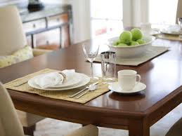how to refinish a dining room table hgtv