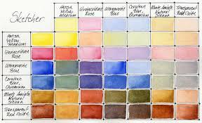 Daniel Smith Hand Poured Watercolor Half Pan Sketcher Set