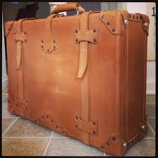 Shop Leather Suitcase Saddleback Leather Co.- well crafted, handmade, no  zippers, old fashioned suitcases.