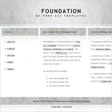 Foundation Free Website Templates In Css Html Js Format For Free