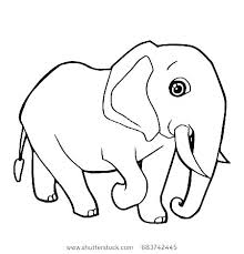 Baby Elephant Coloring Pages Coloring Pages For Kids Elephant Baby