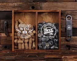 Beer Box Decorations Wine cork holder Etsy 35