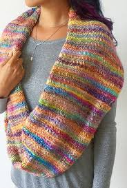 Infinity Scarf Knit Pattern