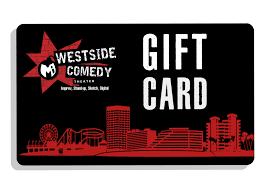 Gift Card - Westside Comedy