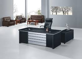 black office table. Office Table Design Black