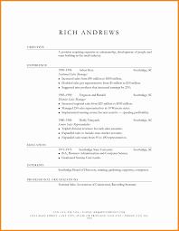 Sales Manager Resume Elegant Best Mock Resume Templates Fresh Resume