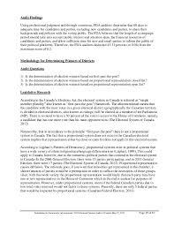 fda global electoral fairness audit report 29