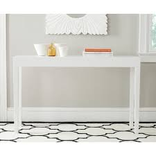 white lacquer console. Beautiful Lacquer Safavieh Kayson White Lacquer Console Table On