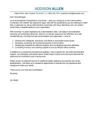 Sample Healthcare Administration Cover Letter Tomyumtumweb Com