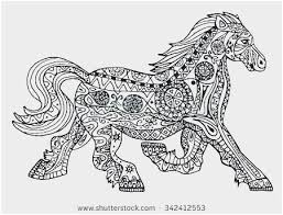 Animal Coloring Pages Pdf Lovely Horse Zentangle Coloring Page